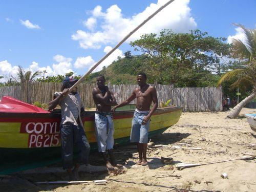 Jamaica Boat Crew