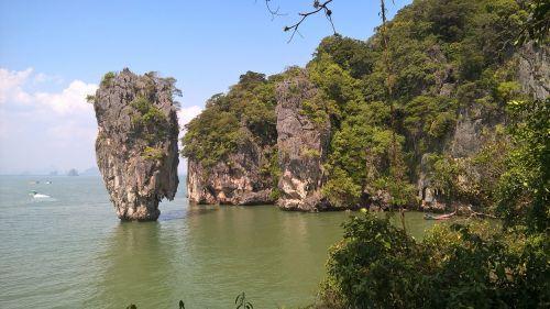 Džeimsas Bondas,Tailandas,vulkaninis,phuket,jūros dugnas,uolos,turistinis,turizmas,atogrąžų,kraštovaizdis,obligacija