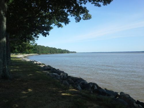 james river shore shoreline