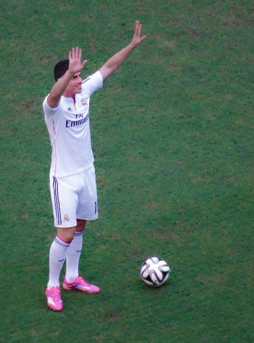 james rodriguez footballer real madrid