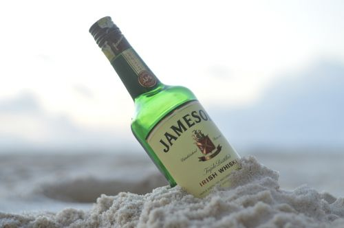 jameson whisky beach