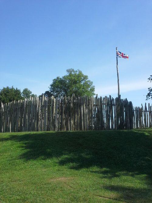 jamestown fort fortress