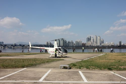 jamsil helicopter travel