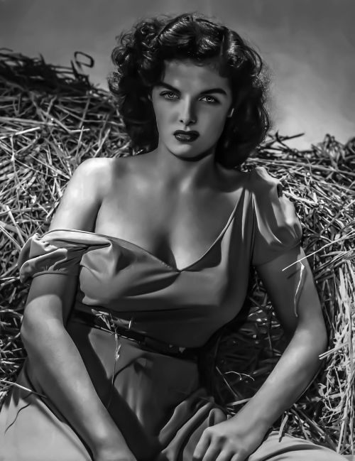 jane russell-female portrait hollywood