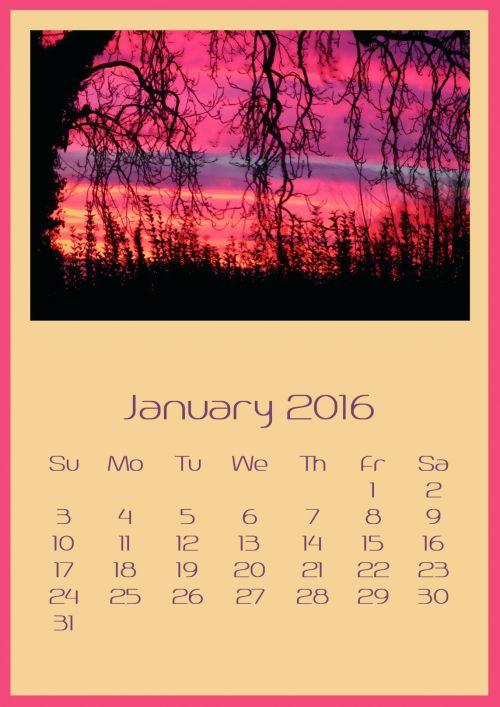 January 2016 Stormy Sunrise