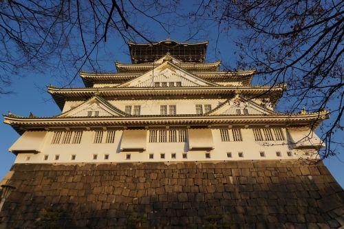 japan castle osaka
