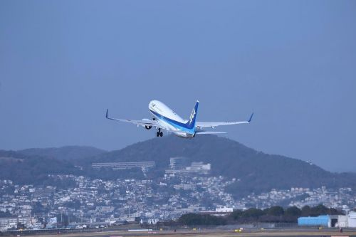 japan osaka airplane