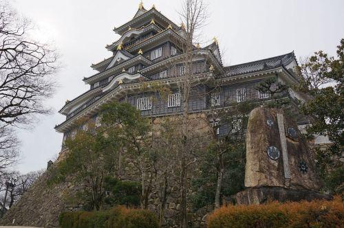 japan okayama castle tourism