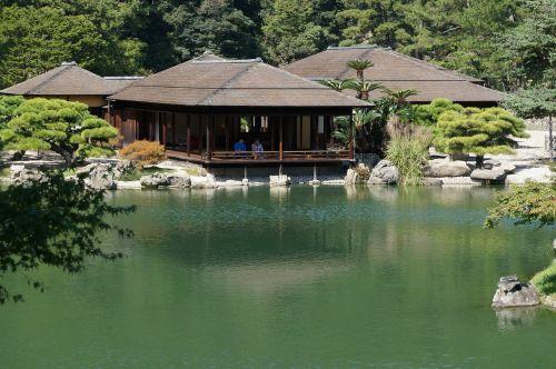 japan kuribayashi park takamatsu city
