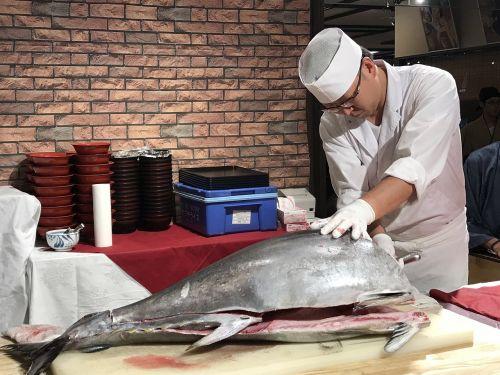 japan tuna sashimi