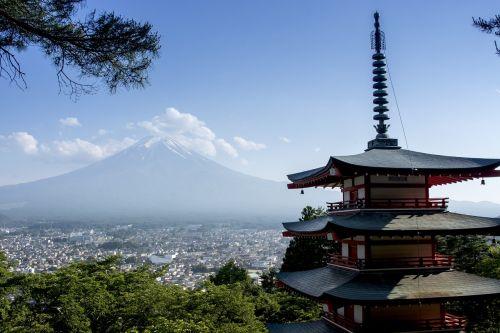 japan mount fuji fuji yoshida