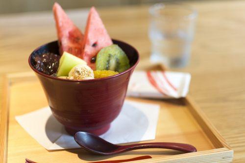Japonija,vasara,vasara Japonijoje,apartamentai,japoniškas stilius,parfait,arbūzas