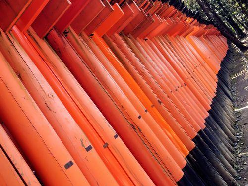 japan kyoto thousand torii