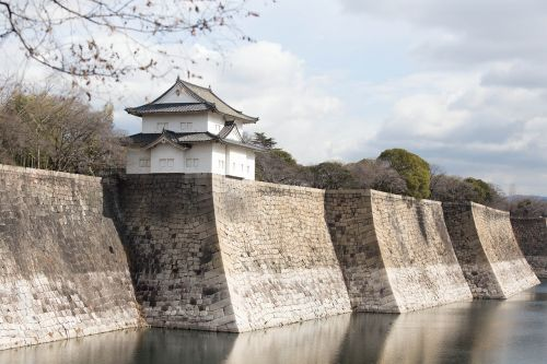 japan osaka osaka castle