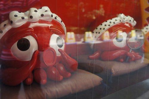 japan  octopus  red