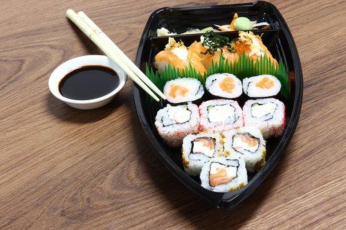 japan  sushi  fish