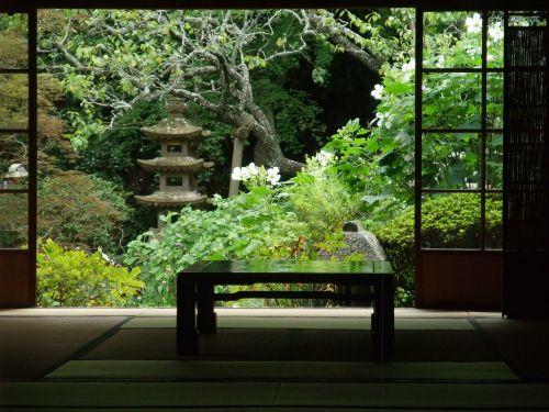 japan garden quaint