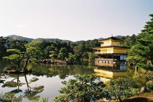 japan kyoto kinkakuji temple