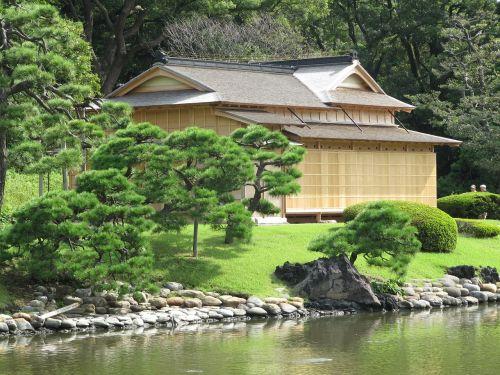 japan japanese teahouse building