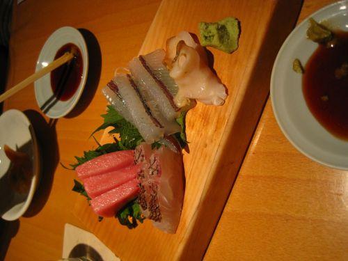 japan food real sushi raw