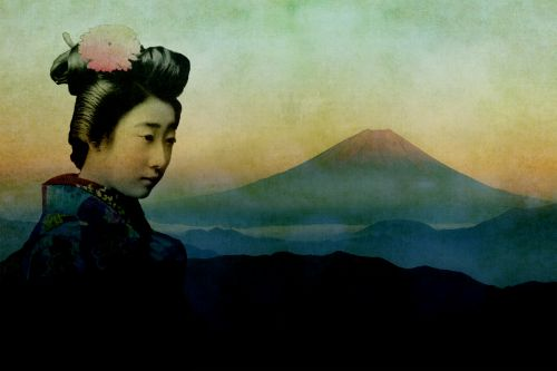 Japan Mountain Traditional Woman
