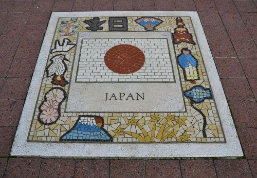 japan team emblem flag emblem