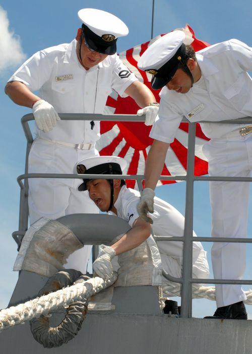 japanese navy sailors