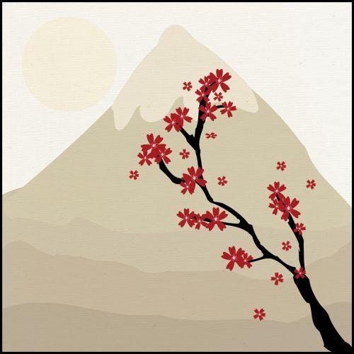 Japanese Maple Tree Mountain