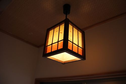 japanese style lighting inn