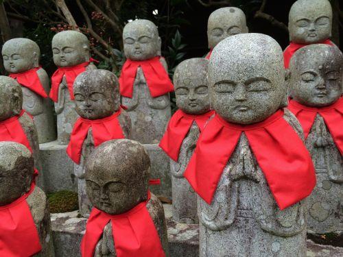 japanese style guardian deity of children japan