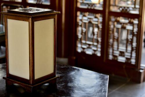 Japanese Table Lantern Light