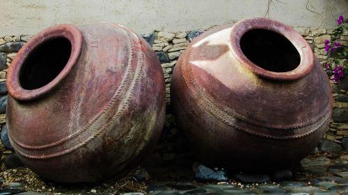 jar pottery handmade
