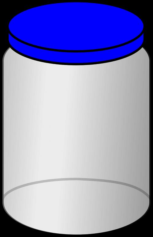 jar,dangtelis,uždaryta,dangtelis,stiklas,tuščia,mėlynas,aišku,nemokama vektorinė grafika