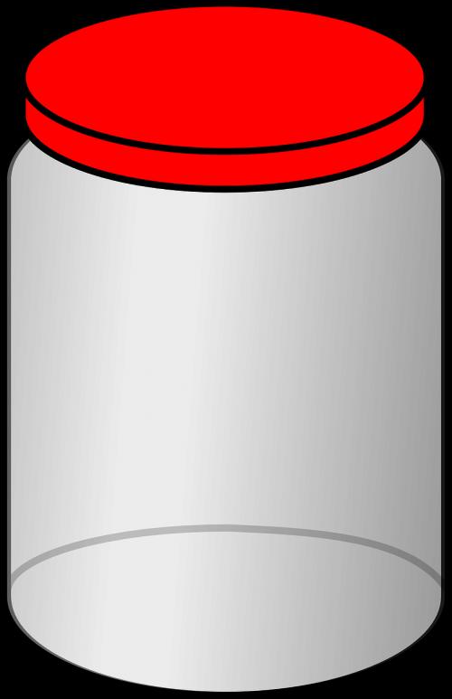 jar lid closed