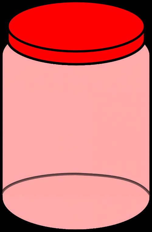 jar empty clear