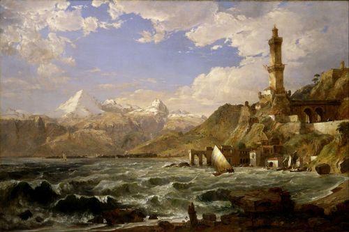 jasper cropsey mountains sea