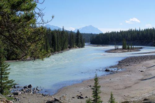 jasper provincial park river stream
