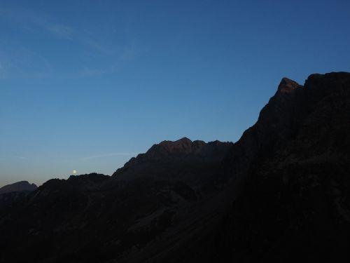 jaufenspitze high flat top mountains