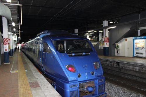 jr kyushu blue sonic 883 system