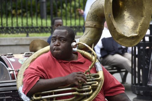 jazz player new orleans