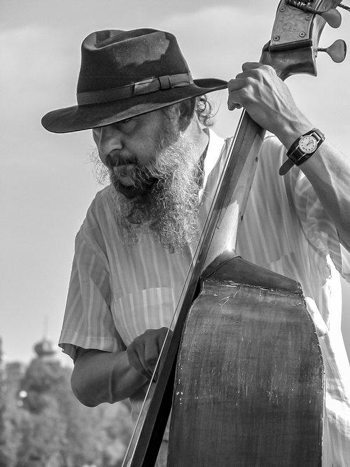jazz  double base  bass