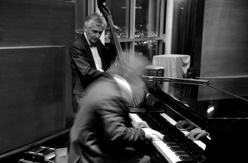 jazz bass piano