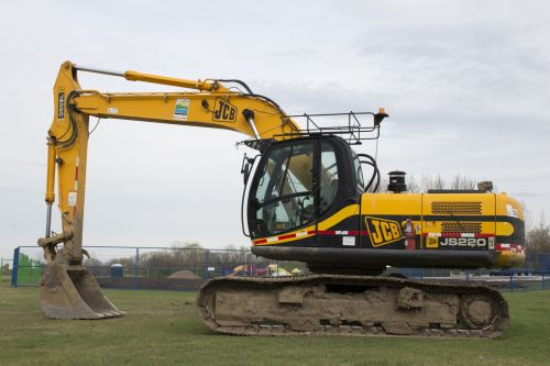 JCB Excavator Heavy Equipment