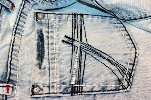 jeans bags back pockets