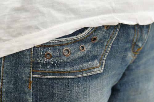 jeans bag rivet
