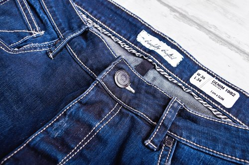 jeans  blue  indigo