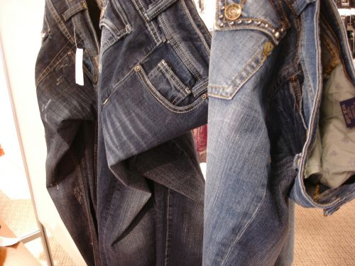 jeans fashion blue