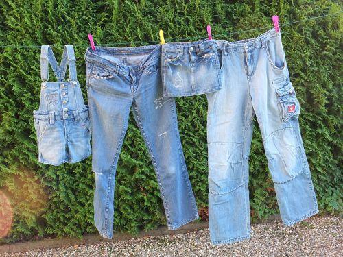 jeans leash laundry