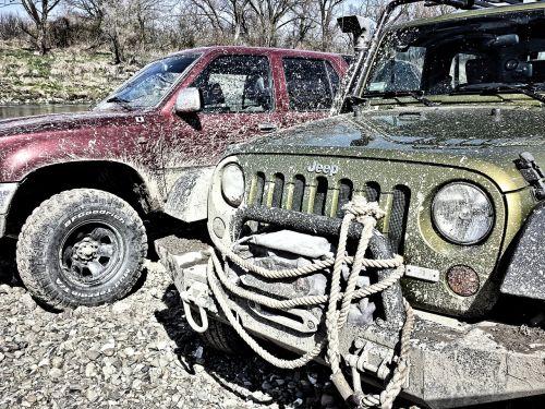 jeep off road mud