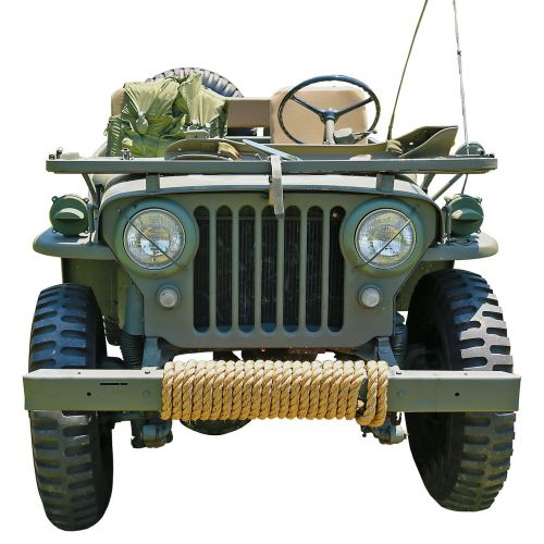 jeep military all wheel drive